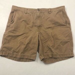 Mens The North Face Brown Cargo Shorts Hiking 38